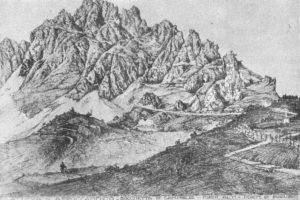 Schizzo di massima del Cap. Picone